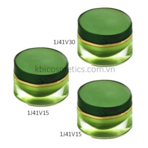 Hũ Oval - nắp oval 1J41