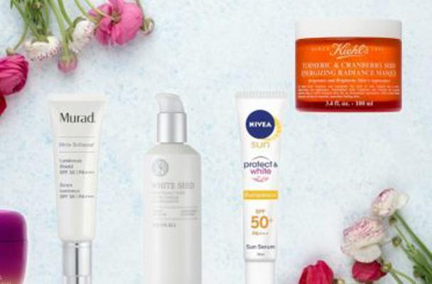 Dưỡng trắng da mặt bằng các sản phẩm làm đẹp được ưa chuộng nhất