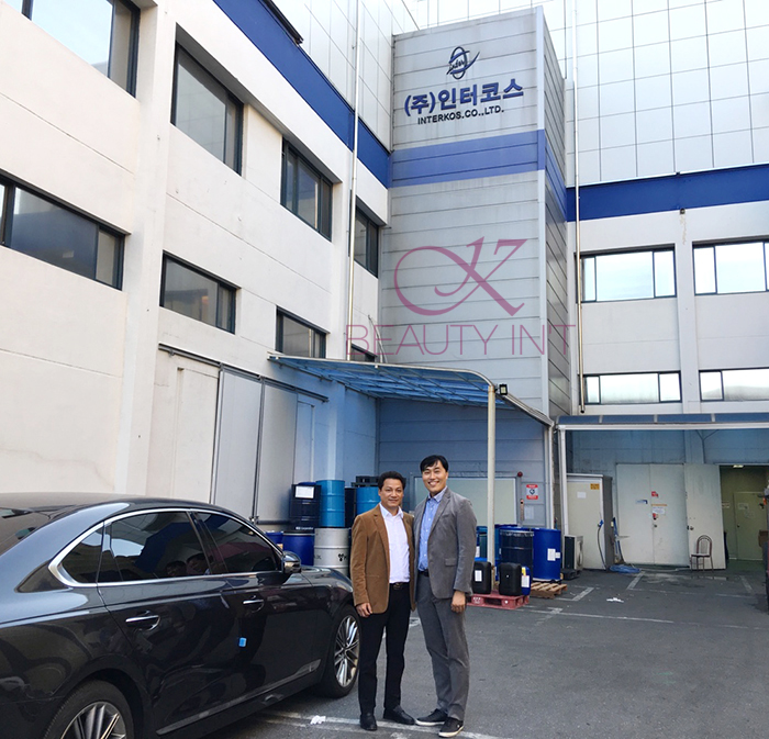 TGĐ. Đào Xuân Hưởng sang thăm nhà máy Interkos
