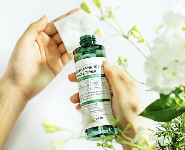 5 loại acid toner da từ sần sùi thô ráp thành láng mịn, căng mọng phát thèm